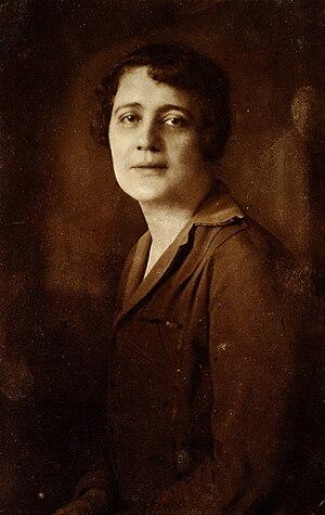 Melitta Schmideberg - Melitta Schmideberg ca. 1925