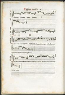 Prima Facifs, Melopoiae, 1507 (Quelle: Wikimedia)
