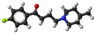 Melperone - Image: Melperone 3D ball