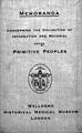 Memoranda...primitive peoples Wellcome L0032055.jpg