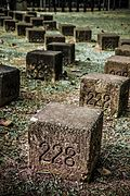 Memorial stone blocks, 228 Memorial Park, Chiayi City (Taiwan).jpg