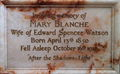 Memorial to Mary Blanche.JPG
