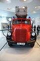 Mercedes-Benz LF 3500 1952 Feuerwehrfahrzeu mit MetzDrehleiter DL22 HeadOn MBMuse 9June2013 (14983210522).jpg