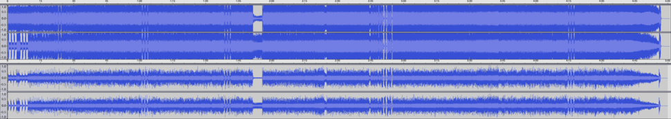Metallica My Apocalypse waveform