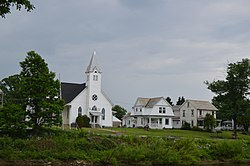 Methodist church and houses in Summerville.jpg