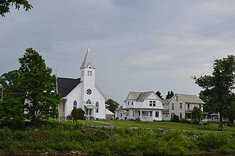 Redbank Creek (Pennsylvania) - Creekside scene in Summerville