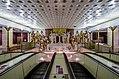 Metro SPB Line5 Sportivnaya Vestibule 1 Mosaic.jpg
