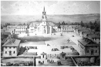 Mettray Penal Colony - Mettray in 1844.