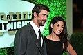 Michael Phelps & Nicole Johnson (33394409061).jpg