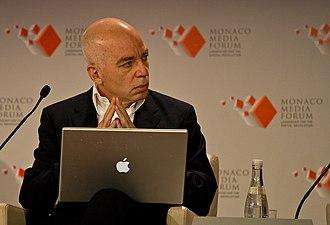 Michael Wolff (journalist) - Wolff at the 2008 Monaco Media Forum