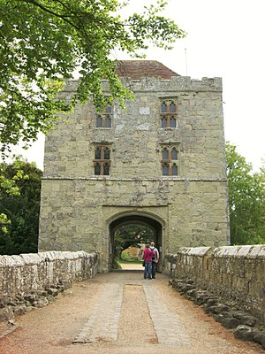 Michelham Priory - The gatehouse