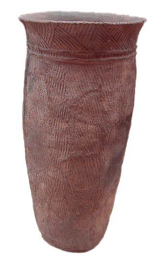 Jōmon pottery - Middle Jomon Period rope pottery 5000–4000 BCE