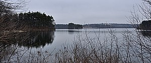 Middlesex Fells Reservoirs Historic District - Spot Pond