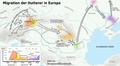 Migration der Hutterer in Europa.png