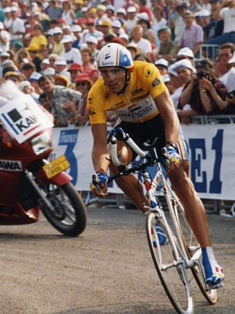 Indurain at the 1993 Tour de France Miguel INDURAIN (cropped).jpg