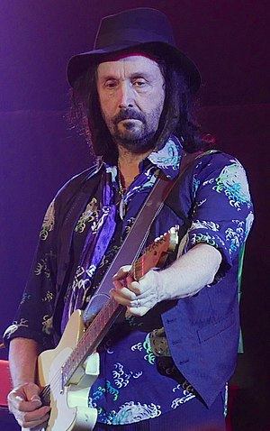 Mike Campbell (musician) - Campbell performing in 2016