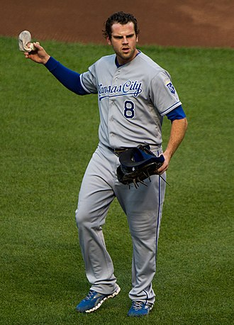 Mike Moustakas - Moustakas with the Kansas City Royals