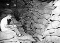 Milton Colman and Paul Kniss inventory rice, Bihar, India, 1967 (16803328567).jpg