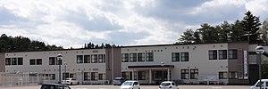 Minamisanriku - Minamisanriku Town Hall, May 2013