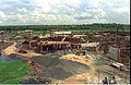 Mini Auditorium Under Construction - Convention Centre Complex - Science City - Calcutta 1994-10-07 1054.JPG
