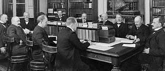 Karl Staaff - Karl Staaffs second cabinet (1911)
