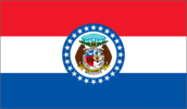 Flag of Missouri, USA