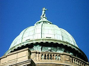 Mitchell Library - Image: Mitchell Library roof closeup
