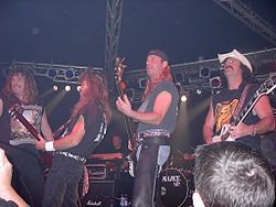 Molly Hatchet on stage (2003)