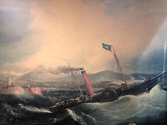 SS Mona's Isle (1830) - Image: Mona's Isle (1830)