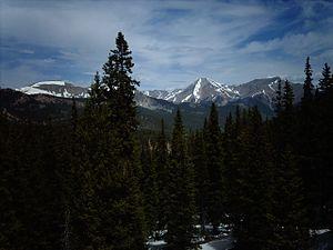 Monarch Pass - Image: Monarchview