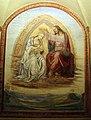 Monte oliveto maggiore, scale, sodoma, incoronazione della vergine 02.JPG
