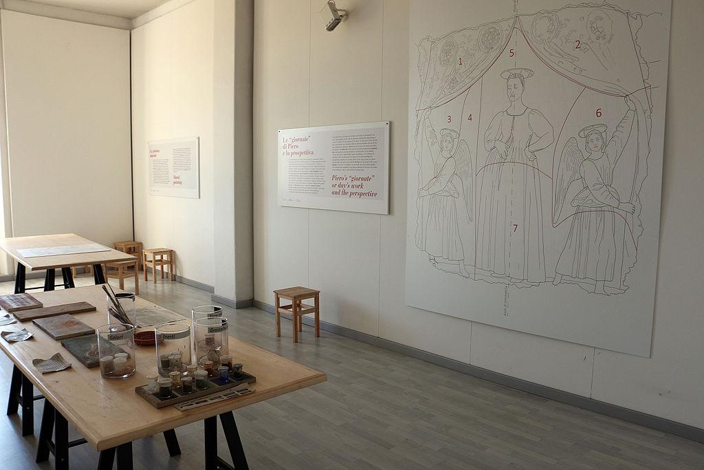 Museo della Madonna del parto, sala didattica