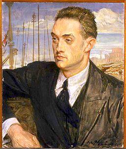 Montherlant par J-Emile Blanche 1922