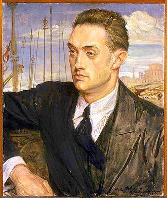 Henry de Montherlant - Montherlant as painted by Jacques-Émile Blanche, 1922. Musée des Beaux-Arts de Rouen.