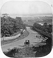 Montreal, from below Cote des Neiges toll gate, QC, 1859.jpg