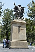 Monument of Beethoven at Alameda Central.jpg