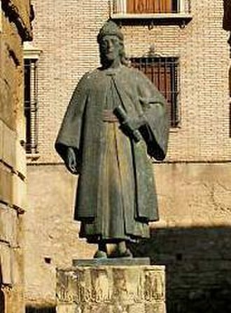 Ibn Hazm - Image: Monumento a Ibn Hazm