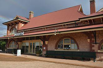 Moonta, South Australia - Image: Moonta Railway Station
