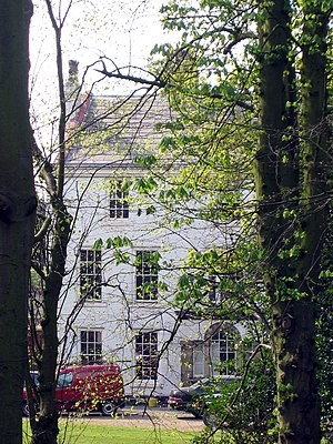 Listed buildings in Runcorn (rural area) - Image: Moore Hall, Cheshire