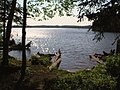 Moose Lake in the Chequamegon, viewed from behind campsite 2.jpg