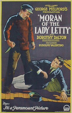 Moran of the Lady Letty - Poster
