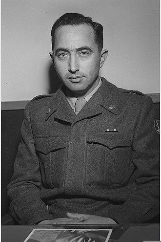 Chief of the General Staff (Israel) - Image: Mordechai Maklef 1952