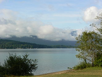 Sproat Lake - Morning at Sproat Lake Provincial Park