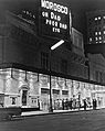 Morosco Theatre, New York City, at night.jpg