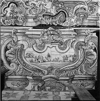 Miranda do Corvo - Detail in the monastery of Santa Maria