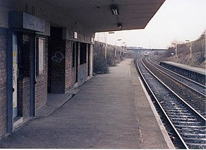 Moston, Manchester - Moston railway station
