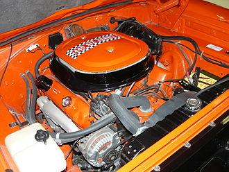 Plymouth Superbird - Image: Moteur Superbird