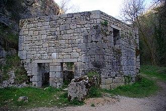 Alzou (Ouysse) - Image: Moulin du Saut 4 Stevage