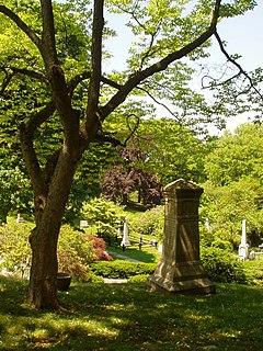 Mount Auburn Cemetery cemetery in Cambridge and Watertown, Massachusetts