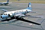Mount Cook Airline Hawker Siddeley HS-748 at Christchurch Airport.jpg